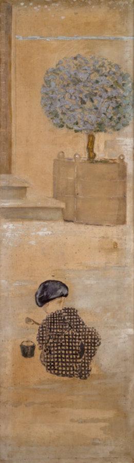 Pierre Bonnard: Kind mit Sandkuchen oder Kind mit Eimer