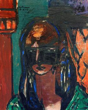Max Beckmann: Frau mit Maske