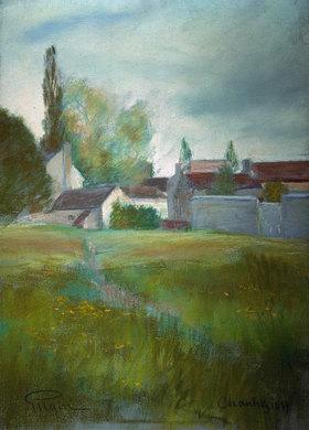 Prinz von Schweden Eugen: Dorf bei Chantilly