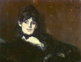 Edouard Manet: Berthe Morisot, liegend