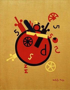 László Moholy-Nagy: Großes Rad (Große Gefühlsmaschine)