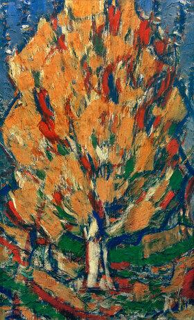 Christian Rohlfs: Baum im Herbst