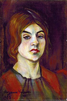 Suzanne Valadon: Self-portrait