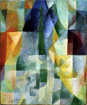 Robert Delaunay: Simultane Fenster, 1912