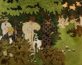 Pierre Bonnard: Daemmerung oder das Krocketspiel