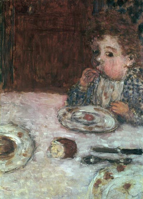 Pierre Bonnard: Child at Breakfast