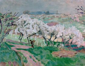Pierre Bonnard: Fruehling in der Normandie
