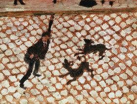 Pierre Bonnard: Strassenszene