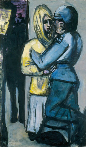 Max Beckmann: Leave-taking / Abschied (1942)
