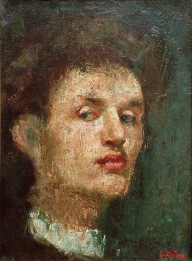 Edvard Munch: Selbstporträt