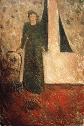 Edvard Munch: Porträt Frau Alexandra Thaulow