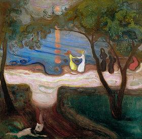 Edvard Munch: Der Tanz am Strand