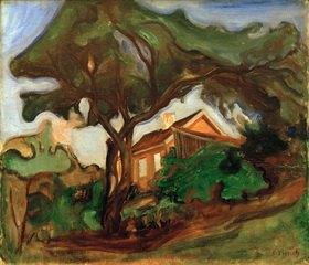 Edvard Munch: Der Apfelbaum (Landschaft)