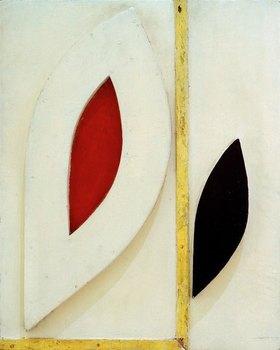 Kurt Schwitters: Untitled (White Construction)