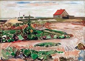 Edvard Munch: Landschaft bei Travemünde