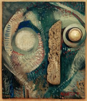 Kurt Schwitters: Aerated V