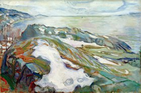 Edvard Munch: Winterlandschaft
