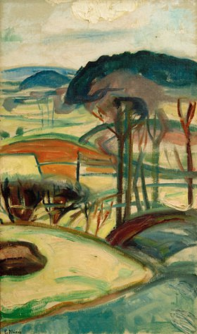 Edvard Munch: Landschaft