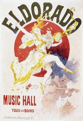 Jules Cheret: Eldorado Music Hall / Tous les soirs