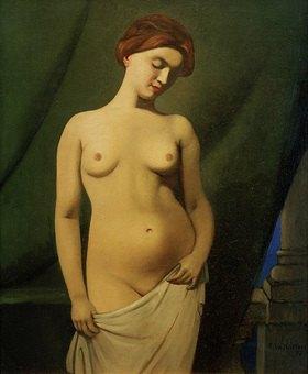 Felix Vallotton: Weiblicher Akt, grüner Vorhang