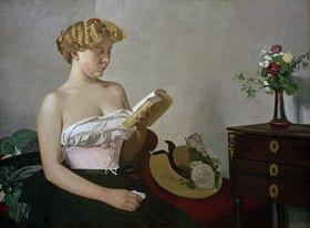 Felix Vallotton: Reading Woman