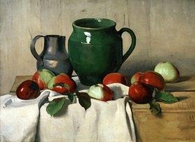 Felix Vallotton: Stilleben mit Äpfeln