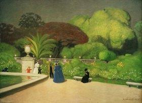 Felix Vallotton: Der Jardin du Luxembourg