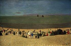 Felix Vallotton: Strand bei Honfleur