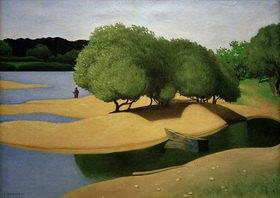 Felix Vallotton: Sandbänke an der Loire