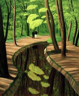 Felix Vallotton: Unterholz, Bois de Boulogne