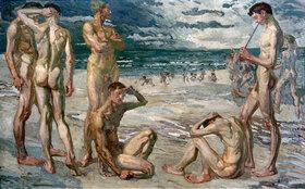 Max Beckmann: Junge Männer am Meer