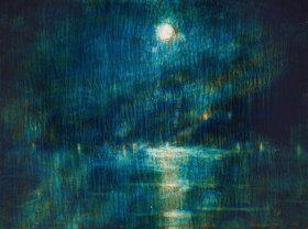 Christian Rohlfs: Blaue Mondnacht (Ascona)