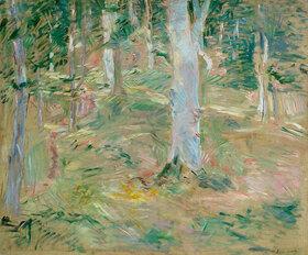 Berthe Morisot: Wald von Compiègne