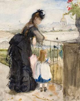Berthe Morisot: Auf dem Balkon