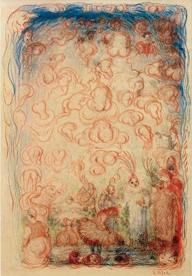 James Ensor: Ballettszene