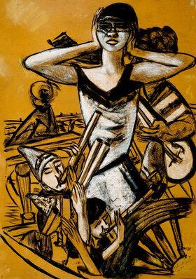 Max Beckmann: Karneval in Neapel