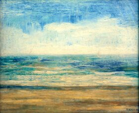 James Ensor: Der Strand von Ostende