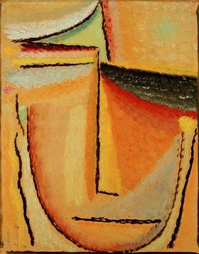 Alexej von Jawlensky: Abstrakter Kopf