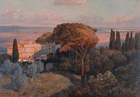 Max Röder: Frascati, Villa Falconieri, Villa Rufina