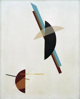 László Moholy-Nagy: Auf weißem Grund