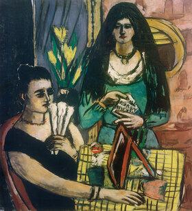 Max Beckmann: Zwei Spanierinnen