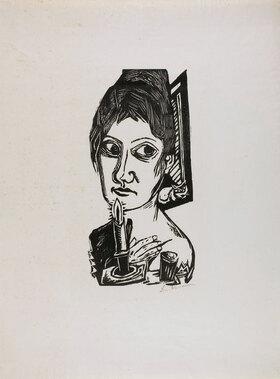 Max Beckmann: Frau mit Kerze