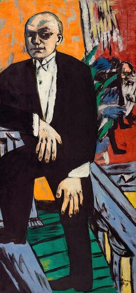 Max Beckmann: Selbstportrait