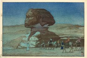 Yoshida Hiroshi: Sphinx at Night