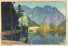 Yoshida Hiroshi: Mount Hodaka (Hodakayama)