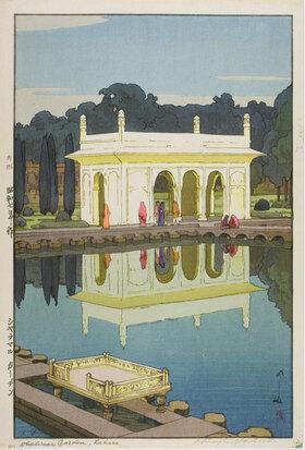 Yoshida Hiroshi: Shalimar Garden, Lahore
