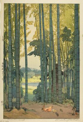 Yoshida Hiroshi: Bamboo Wood