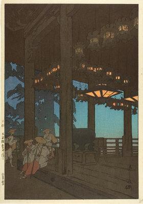 Yoshida Hiroshi: Nigatsudo Temple