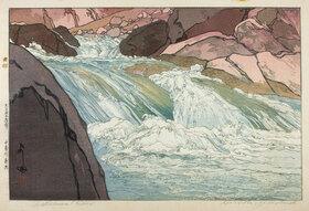 Yoshida Hiroshi: Nakabusa River Rapids
