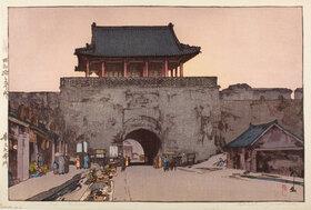 Yoshida Hiroshi: Dainan Gate in Mukden